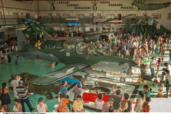 Base AErea de Campo Grande recebe mais de 40 mil visitantes 5
