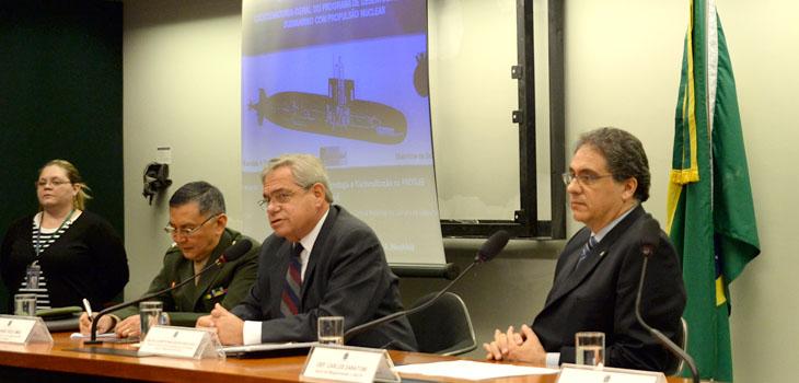 Câmara debate transferência de tecnologia e nacionalização de produtos de defesa