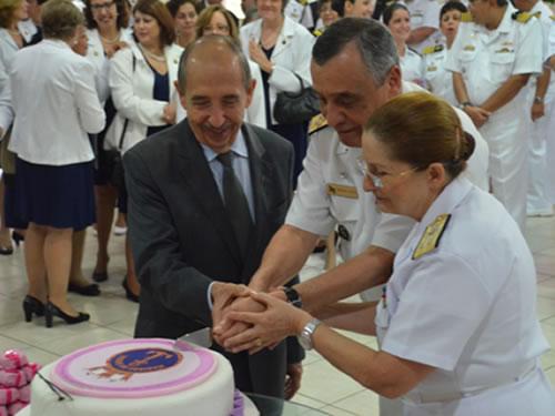 Comandante da Marinha participa de comemoração aos 34 anos de Ingresso da Mulher na Marinha do Brasil