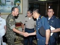 Comando Militar do Leste recebe visita 2