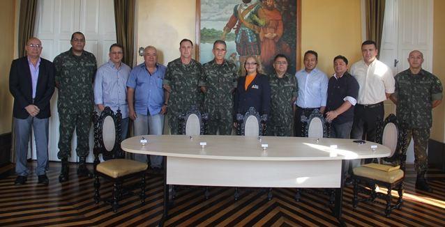 Comando Militar do Norte assina contratos para a construção da Brigada da Foz do Amazonas