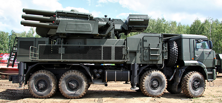 Defesa envia comitiva à Rússia para avaliar sistema de artilharia antiaérea de média altura
