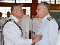 Marinha de Guerra do Peru condecora Comandante