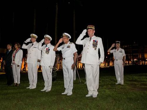Marinha do Brasil participa da Festa Nacional Francesa em Caiena, na Guiana Francesa