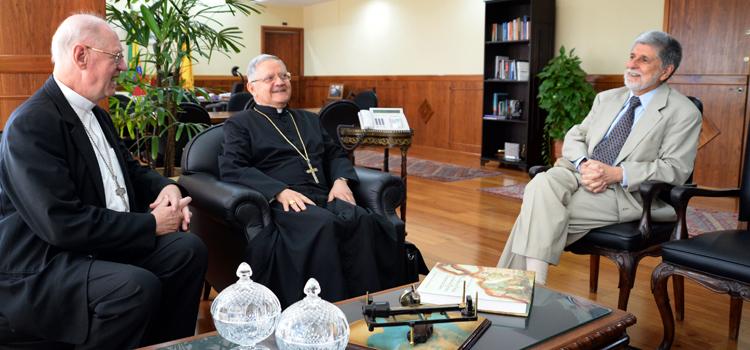 Novo arcebispo do Ordinariado Militar vai estimular diálogo ecumênico