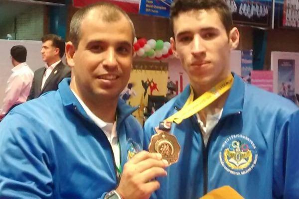 Soldado da FAB conquista bronze em mundial de Taekwondo