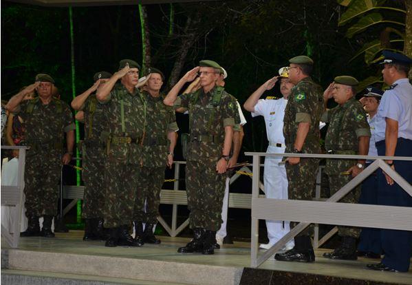 Transmissão de Cargo de Comandante Militar do Nordeste