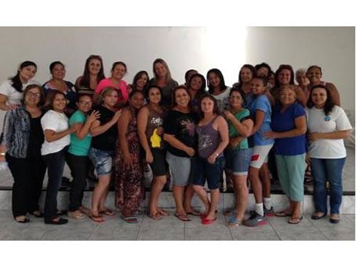 """Voluntárias """"Cisne Branco"""" – Seccional Natal promovem Curso de Feltro para a Família Naval"""