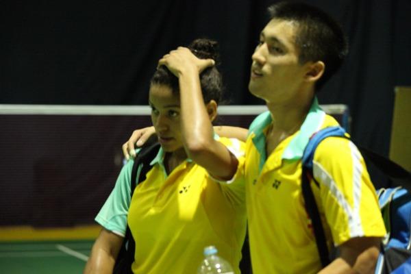 Dupla brasileira conquista vaga na semifinal no torneio de badminton