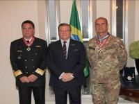 Agraciados e o Embaixador do Brasil no Líbano