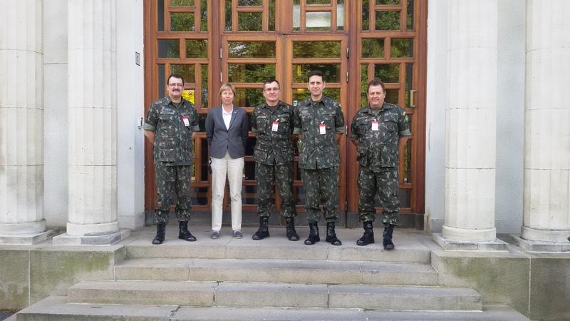 3º Grupo de Artilharia Antiaérea – Visita Técnica na Suécia
