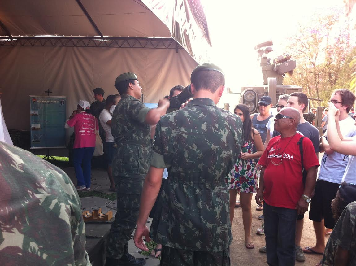 3 Grupo de Artilharia Antiaerea ExpoEx  Parque Farroupilha  Porto Alegre RS 2014 3