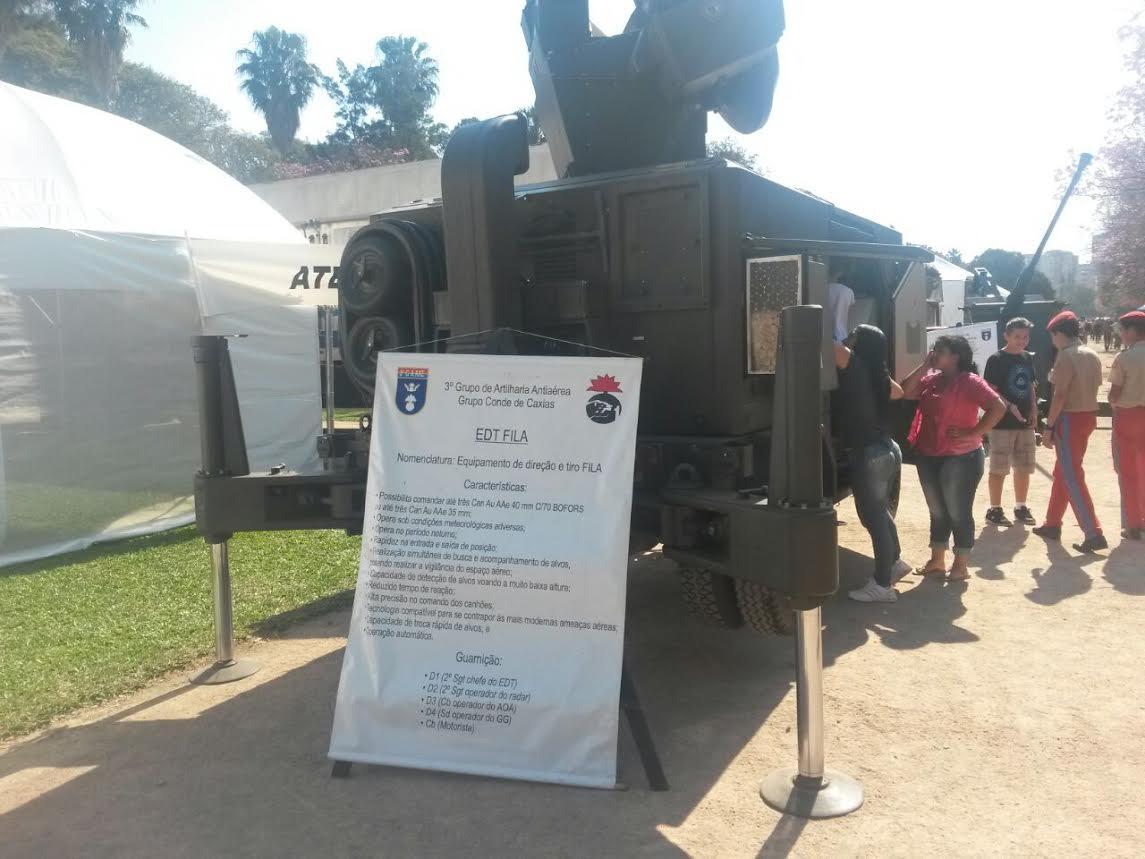 3 Grupo de Artilharia Antiaerea ExpoEx  Parque Farroupilha  Porto Alegre RS 2014 4