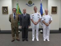 Autoridades do Itamaraty e da Marinha do Brasil celebram o centenário da ForS