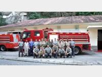 Equipe da Seção de Combate a Incêndio