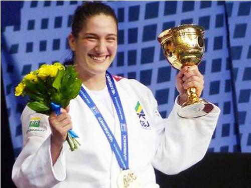 Atleta do Programa Olímpico da Marinha é Campeã Mundial de Judô na Rússia