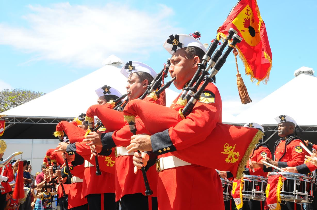 Banda Marcial do Corpo de Fuzileiros Navais 2