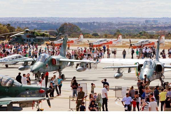 Brasília e Anápolis terão programação nesse fim de semana
