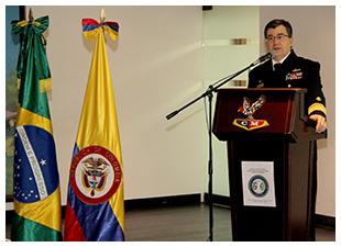Brasil e Colombia debatem seguranca