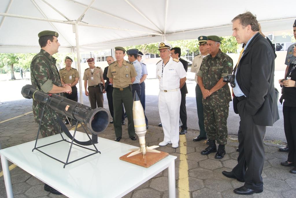 CAD-SUL Visita o Centro Tecnológico do Exército