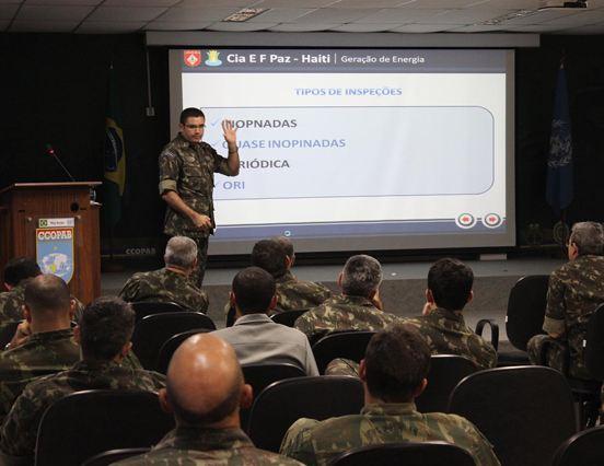 CCOPAB realiza Estágio de Logística e Reembolso em Operações de Paz