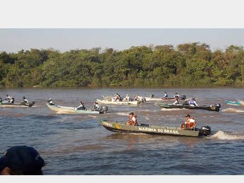 Capitania Fluvial do Pantanal apoia o 3° Campeonato de Pesca em Coxim (MS)