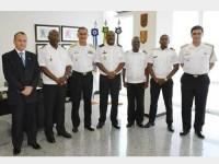Autoridades brasileiras e angolanas