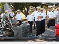 Visita ao Grupamento de Fuzileiros Navais de Brasília