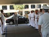 Cerimonial de recepção ao Secretário-Geral do Ministério da Defesa