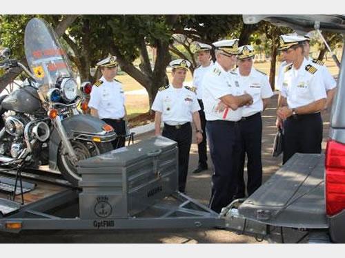 Comando do 7º Distrito Naval recebe visita do Almirantado Programada
