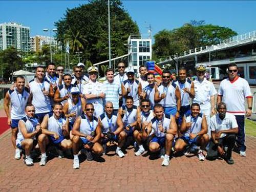 Equipe do CIAW conquista medalha de prata na 38ª Regata a Remo da Escola Naval