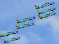 FAB participa do desfile com grupamentos e aeronaves