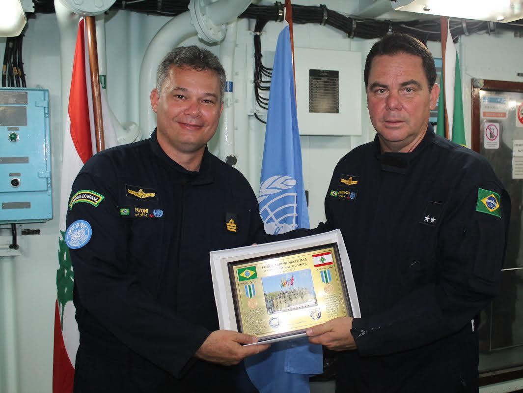 """FRAGATA """"CONSTITUIÇÃO"""" É O NOVO FLAG SHIP DA FTM-UNIFIL"""