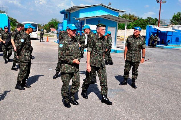 Gabinete do Comandante do Exército – Comandante visita a BRAENGCOY
