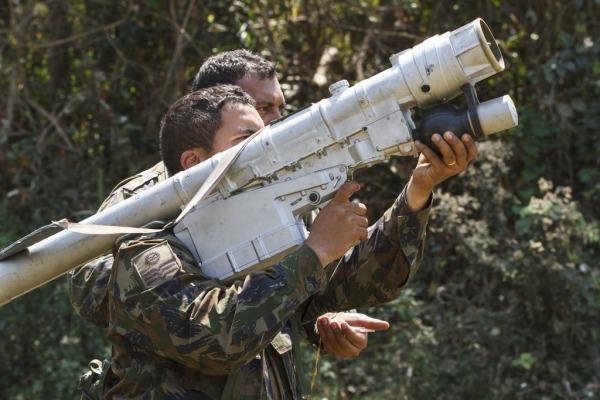 Grupo de Defesa Antiaérea treina no Mato Grosso do Sul