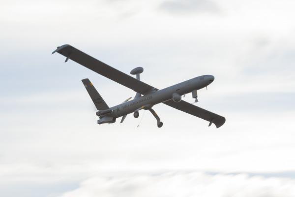 Hermes 450 é empregado pela primeira vez em combate aéreo simulado