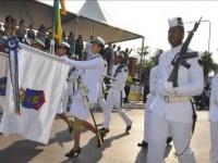 Marinha do Brasil abrindo o desfile de 7 de Setembro em Ladário (MS)