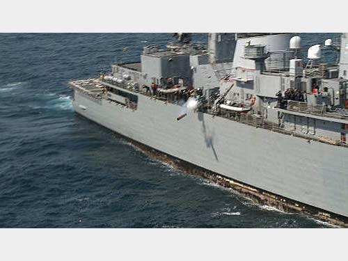 """Marinha do Brasil realiza lançamento de torpedo MK46 durante Operação """"ADEREX-I/2014"""""""