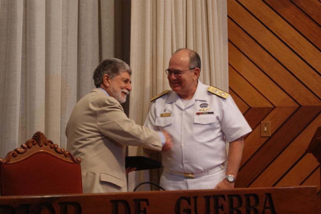 Ministro da Defesa Profere Aula Inaugural 4