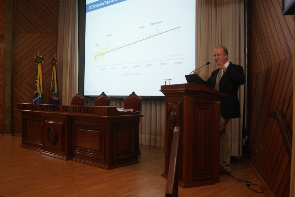 Palestra do Ministro da Secretaria de Assuntos Estratégicos na ESG