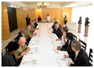 Representantes da africa do Sul buscam parcerias tecnologicas com Brasil 2