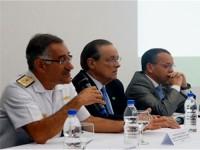 Alte Esq Fernandes discursa durante a palestra