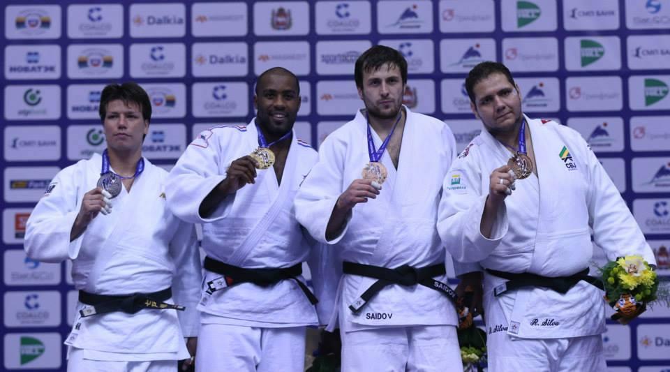 Sargento Rafael Silva ganha medalha de bronze no Mundial de Judô