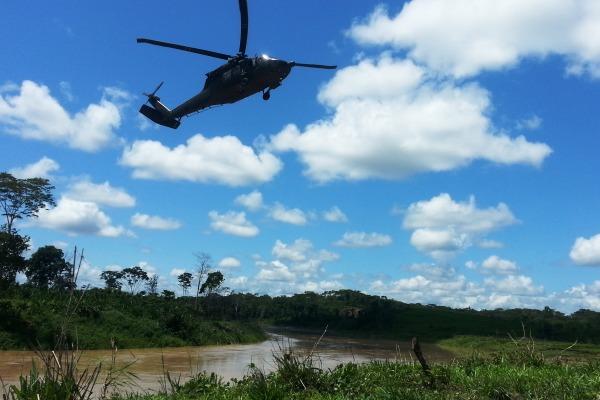 Ate de helicoptero 1
