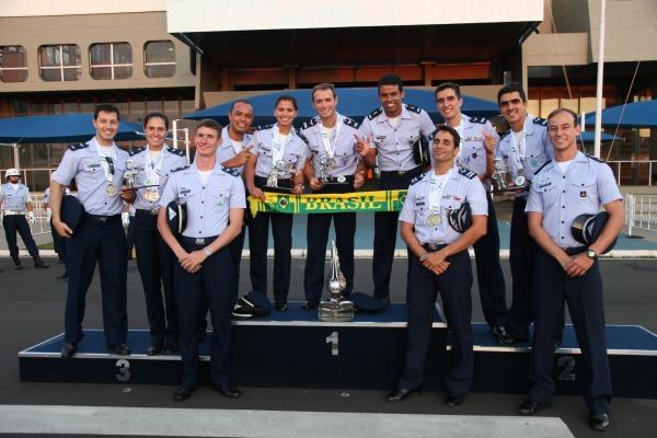 Brasil e Noruega são os vencedores do Campeonato Mundial de Pentatlo Aeronáutico