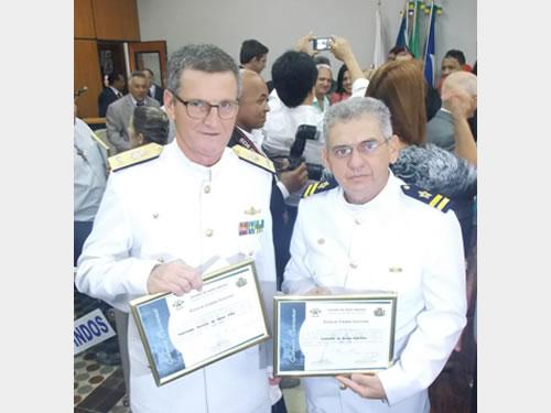 Comandante do 6° Distrito Naval recebe Título de Cidadão Cacerense