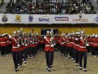 Apresentação da Banda do Corpo de Fuzileiros Navais