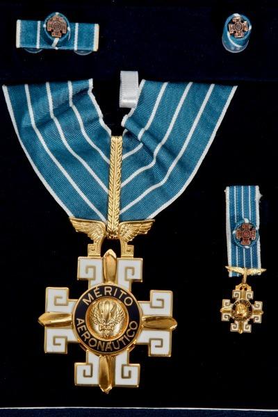 Entrega da Ordem do Mérito Aeronáutico será realizada nesta quinta-feira (23/10)