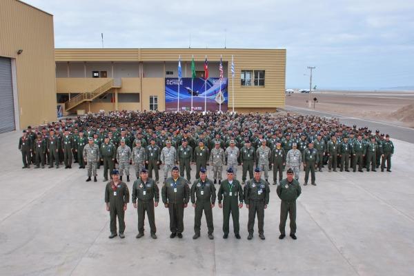 Força Aérea Brasileira participa de exercício no Chile