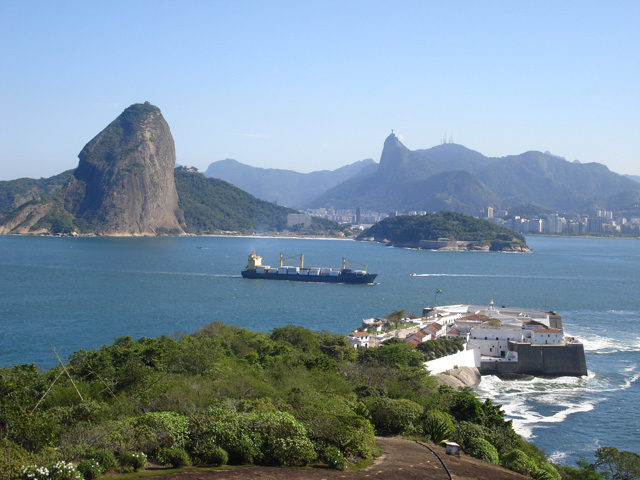 Fortaleza de Santa Cruz foi a principal estrutura defensiva da Baía de Guanabara